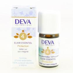 4 Elixir Essentiel Protection - Petit Modèle - Déva