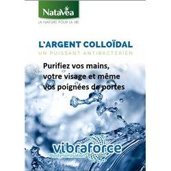 Argent 20 ppm Colloidal Biodynamisé NataVéa