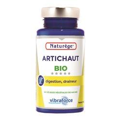 Artichaut Bio - 60 Gélules - Naturège - Détox foie - Draineur