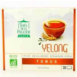 Yelong Ginseng Bio - 30 sachets - Thés de la Pagode