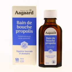 Propolis bain bouche - 50 ml - Aagaard