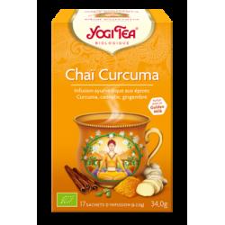 Chaï Curcuma - 17 sachets - Yogi Tea
