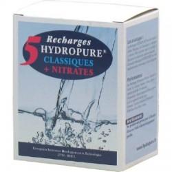 Pack de 5 Recharges Carafe classique + Nitrate - 5 Recharges - Hydropure