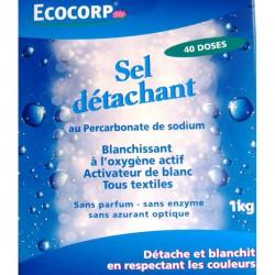 Sel détachant au Percarbonate de sodium - 1 kg - 40 doses - Ecocorp