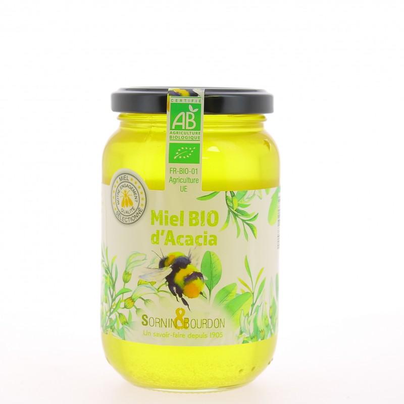 Miel Acacia Bio -Pot 500 g - Sornin & Bourdon