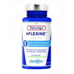 Aflexine Naturège | Glucosamine | Chondroitine - Répare le cartilage - 90 gélules végétales VIBRA - Naturège