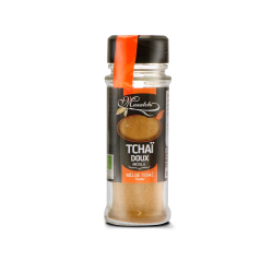 Epice Bio Tchaï doux poudre - Flacon distributeur 30 g - Masalchi