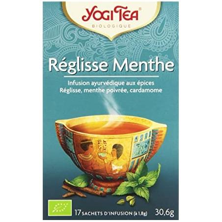 Thé Réglisse Menthe - 17 Sachets - Yogi Tea
