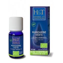 Huile Essentielle - Mandarine verte - flacon 10 ml- Herbes et Traditions