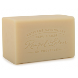 Savon Marseille Pur blanc - pain savon 300 g - Rampal Latour