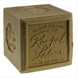 Savon Marseille vert - Pain Savon 600 grammes - Rampal Latour