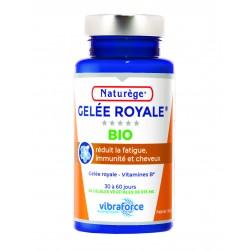 Gelée Royale Bio - 60 Gélules Végétales - Naturège Laboratoire