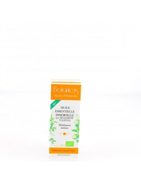 Huile Essentielle Immortelle Helichryse Italienne - 5 ml - Botanicus
