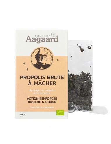 Propolis Brute à mâcher - sachet 20 G - Aagaard