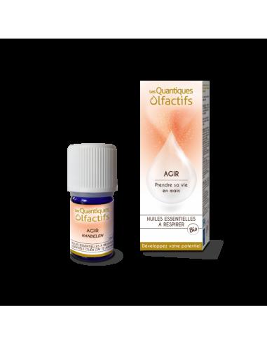 Quantique Olfactif Agir - flacon gouttes 5 ml - Déva et Herbes & Traditions