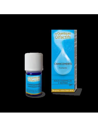 Quantique Olfactif Changements - Flacon gouttes 5 ml - Déva et Herbes & Traditions