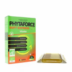 Phytaforce Soft Express AB - 20 Ampoules - Biotechnie