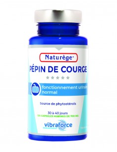 Pépin de Courge - 120 Capsules Marines de 700 mg - Naturège Laboratoire