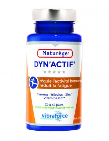 Dynactif - Energie et Vitalite - Ginseng Tribulus B6 - 90 Gélules Végétales - Naturège Laboratoire