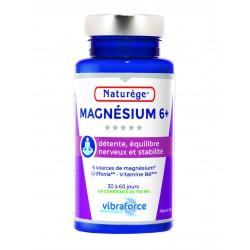 Magnésium 6+  - Pilulier 120 Comprimés -  Naturège Laboratoire