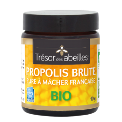 Propolis à mâcher Bio Française - 10 g - Trésor des Abeilles