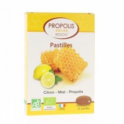 Pastilles Propolis Citron Bio