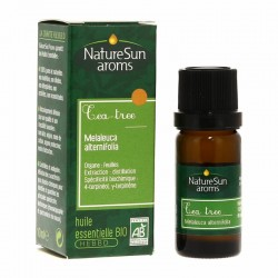 Huile essentielle Tea Tree - Flacon Gouttes 10 ml - NatureSun Aroms