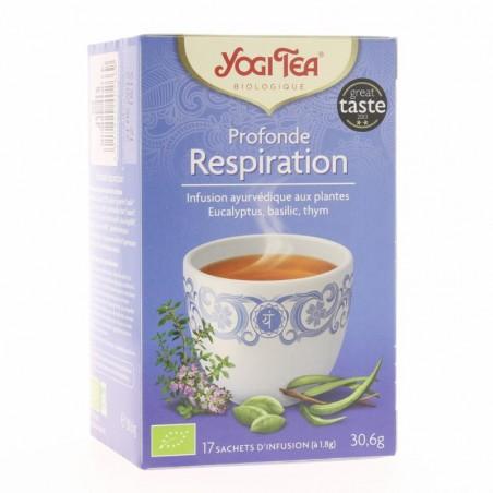 Thé Profonde respiration - 17 Sachets - Yogi Tea