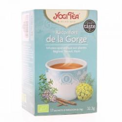 Thé Réconfort de la gorge - 17 Sachets - Yogi Tea