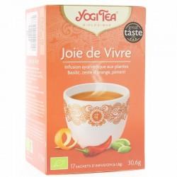 Thé Joie de vivre - 17 Sachets - Yogi Tea