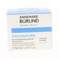 AQUANATURE Crème Nuit - 50 ml - Annemarie Borlind