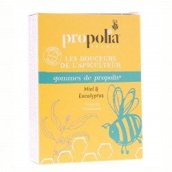 Gommes de Propolis Miel / Eucalyptus