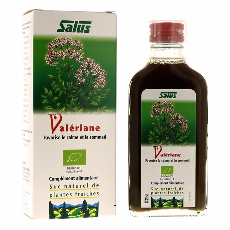 Suc Valériane - Flacon 200 ml - Salus