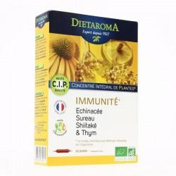 Ampoules CIP Immunité - 20 Ampoules -Dietaroma