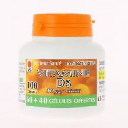 Vitamine D3 - 100 Gélules - Vecteur Santé