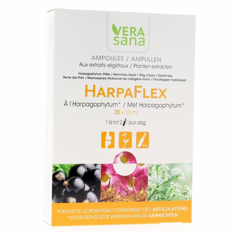 Harpaflex Mobilité articulaire - 20x10ml Ampoules - Vera Sana