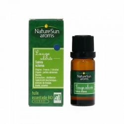 Huile essentielle Sauge sclarée - Flacon Compte Goutte 10 ml -  Nature Sun Aroms