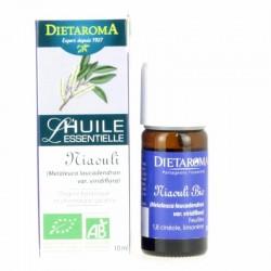 Huile essentielle Niaouli Bio - Flacon 10 ml - Dietaroma