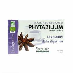 Infusion Phytabilium Bio - 20 Sachets - Biotechnie