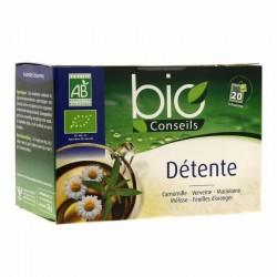 Infusion Détente Bio - 20 Sachets - Bio Conseils