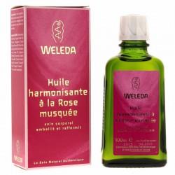 Huile harmonisante Rose musquée - 100 ml - Weleda