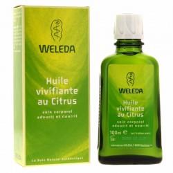 Huile vivifiante Citrus - Flacon 100 ml - Weleda