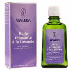 Huile relaxante à la lavande - Flacon 100 ml - Weleda