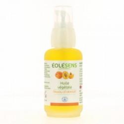 Huile végétale Noyaux Abricot - Flacon 50 ml -  Eolésens