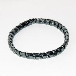 Bracelet JONQUILLE en hématite