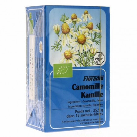 Tisane Camomille - 15 infusettes - Salus