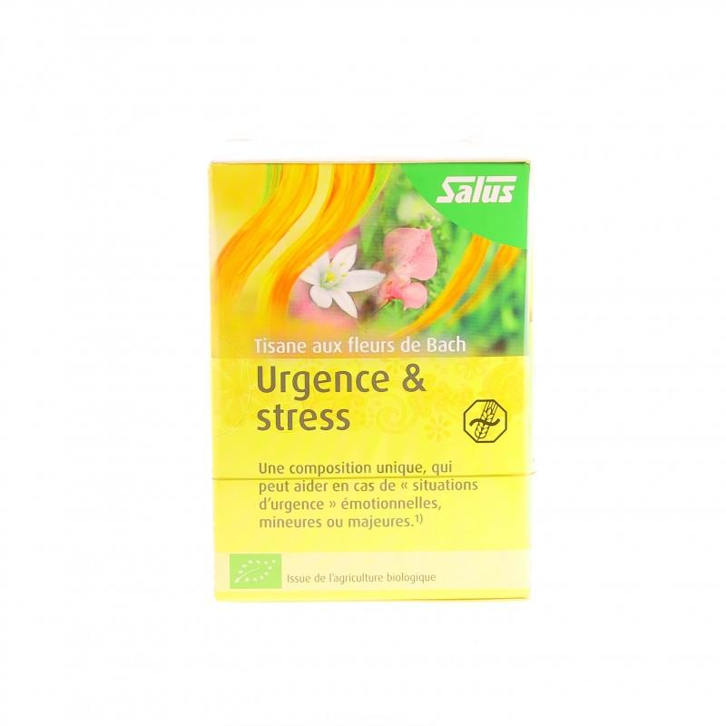 Tisane Fleur de Bach Urgence et Stress - 15 Sachets - Salus