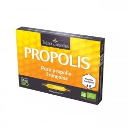 Pure Propolis Française - 10 Ampoules - Trésor des abeilles