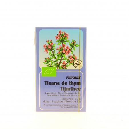 Tisane Thym Bio - 15 Infusettes - Salus