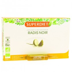 Radis Noir Bio - 20 Ampoules - Superdiet